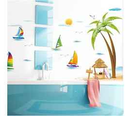 Bathroom PVC Wall Decal