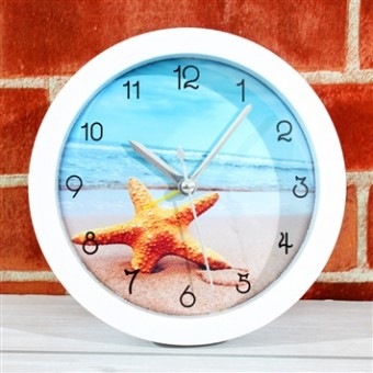 Beach Theme Wall Clock